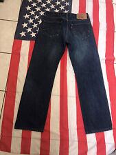 LEVIS 501 vintage blue JEANS W 34 L 32 LEVI