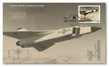 Canada AVRO CF-105 ARROW First Day Cover Canadians In Flight Collectible Stamp