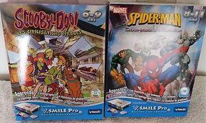 2 Jeux V.Smile Pro - Spider-Man + Scooby-Doo - 6-11 ans