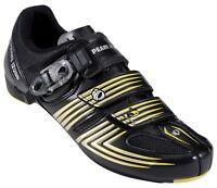 Pearl Izumi Road Race 2 Cycling Shoe - Black/Yellow - Size EU 43