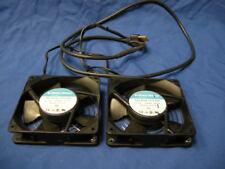 2 GLOBE MOTORS A47-B10A-15T2-000 FAN 115 VAC 50/60Hz 8/7 W