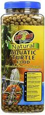 New listing (3 Pack) Zoo Med Natural Aquatic Turtle Food Pellets with Vitamin Minerals 13 oz