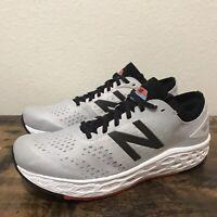 New Balance Men's Fresh Foam Vongo V4 White Grey Sneakers Size 10 Worn 2-3 Times
