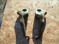 Pair of John Deere Disc Scraper Brackets , 1 left 1 right , B10434B & B10435B