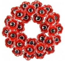 Angelys Poppy Wreath Brooch