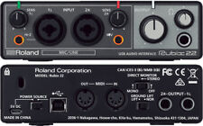 ROLAND RUBIX22 INTERFACCIA AUDIO SCHEDA AUDIO USB 2-IN/2-OUT PER PC, MAC E iPAD