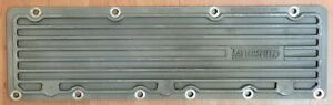 Tattersfield Ford Model B Side Cover Unpolished Aluminum Finned