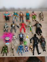 Action Figure Lot Batman Lord Of The Rings Gollum Assassins And More