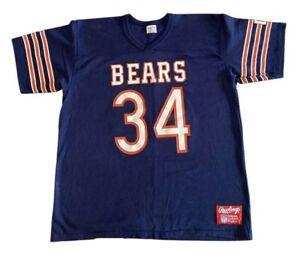 80's Chicago Bear #34 Walter Payton GSH Rawlings Shirt X Large Sweetness!
