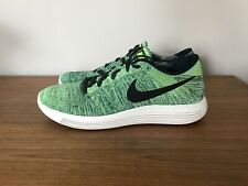 Nike Lunarepic Low Flyknit Size US 11 Color Green Running Shoes