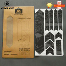 ENLEE 3D MTB Bike Frame Protection Stickers Reflective Stickers Wear-Resistant