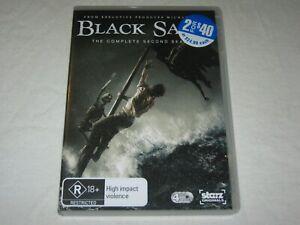 Black Sails - Complete Season 2 - 4 Disc - VGC - Region 4 - DVD