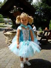 Frozen Dress. Stunning Handmade Elsa Dress age 4 . And handmade matching cape.