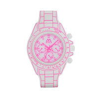 DIGITONA MM TIME,OROLOGIO LED,DESIGN CRONOGRAFO,DGT01WHPS,LIST. 95 €,BIANCO ROSA