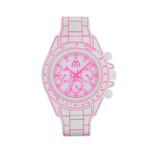 DIGITONA MM TIME,RELOJ LED,DESIGN CRONÓGRAFO,DGT01WHPS,LIST. BLANCO ROSA