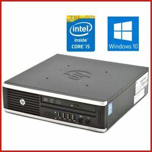 HP MINI 8300 USFF INTEL CORE I5 2.9GHZ 8GB RAM 320GB HDD DVDRW WIN10