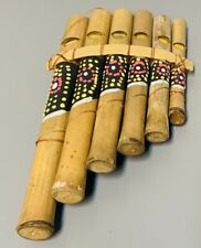 More details for my family house bamboo dot painted flute with pipes of different notes