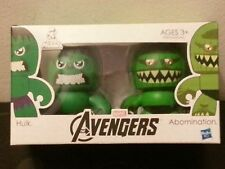 Hasbro AVENGERS MINI MUGGS The Hulk + Abomination Brand New Mighty Heroes