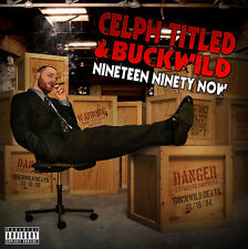 CELPH TITLED & BUCKWILD Nineteen Ninety Now CD DEMIGODZ D.I.T.C. FORT MINOR AOTP