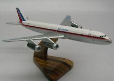 DC-8 Douglas Cubana DC8 Airplane Wood Model Free Shipping Regular New