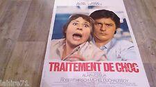 alain delon TRAITEMENT DE CHOC ! a girardot : affiche cinema vintage 1973