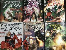 JUSTICE LEAGUE DARK. NO.2-7. (6 ISSUE HIGH GRADE LOT). THE NEW 52. DC COMICS.