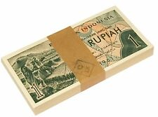INDONESIA 1 RUPIAH 1961 P 78 UNC (Bank bundle 100 Notes)
