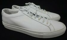 Common Projects Achilles Low White Leather Sneakers Size 44 EU./US 11