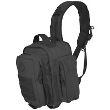 Hazard 4 Evac Watson Lumbar Chest Sling-Bag Travel Patrol One Shoulder Bag Black