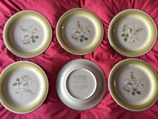 IMPRESSIONS DANIELE COUNTRY DAY STONEWARE DINNER PLATES 6 JAPAN COUNTRY KITCHEN