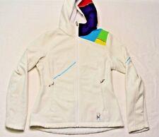 Women's Spyder Zip Core Mid Weight Softshell Jacket White XS