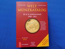 Weltmünzen Katalog 20.und 21. Jahrhundert 1900 - 2011    Auflage von 2012  NEU