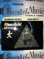 """NEW In Package Pfanstiehl 359-DS77 Diamond Needle Stylus """"Dual Needle"""" 359DS77"""