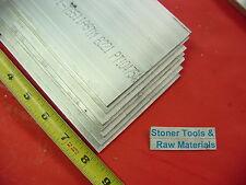 "20 Pieces 1/8"" X 4"" ALUMINUM 6061 FLAT BAR 8"" long .125"" Plate New Mill Stock"