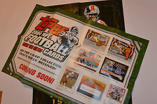 VINTAGE TOPPS 2004 2005 FOOTBALL CARD POSTERS FOR DEALERS! 50th ANNIVERSARY!