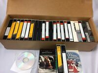 Home Recorded Prerecorded VHS Lot Blank Lawrence Welk 26 Tapes Total