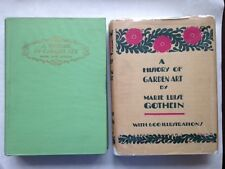 A History Of Garden Art by Marie Luise Gothein,  Vol. I & II (1928)