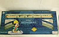 Disney Walt World Resort Monorail Play Set- Orange Stripe (Broken door on 2 cars