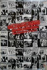 ROLLING STONES SINGLES LONDON YEARS 1989 VINTAGE MUSIC RECORD STORE PROMO POSTER