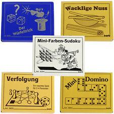Mini Spiele für unterwegs Reisespiel klein Spielidee Mitbringsel Geschenk
