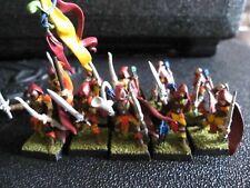 Warhammer Fantasy Wood Elves Glade Guard regiment B painted