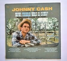 JOHNNY CASH Vinyl Lp NOW THERE WAS A SONG! Original 1960 Columbia