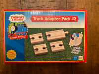 Thomas & Friends Wooden Track Adapter Pack #2 LC99258 Learning Curve (2002)