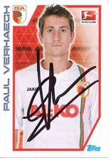 Paul Verhaegh   FC Augsburg Topps Sticker 2012/13 original signiert 402156