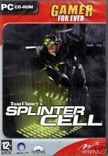 JEU PC CD ROM../..TOM CLANCY'S...SPLINTER CELL...../...NEUF...