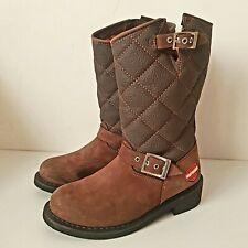 Harley Davidson men's boots motorcycle biker leather size 5US 4UK 37EU brown