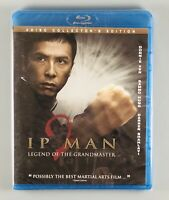 Ip Man 2: Legend of the Grandmaster (Blu-ray Disc,2011,2-Disc Set - New, Sealed!