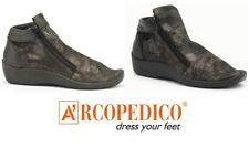Arcopedico Shoes Portugal - Lafayette comfort Lytech zip ankle boots Metallic