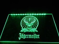 Jagermeister LED Neon Light Sign Hang Sign Home Decor Crafts Bar Pub Wall Art