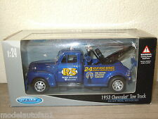 1953 Chevrolet Tow Truck van Welly 1:24 in Box *8500
